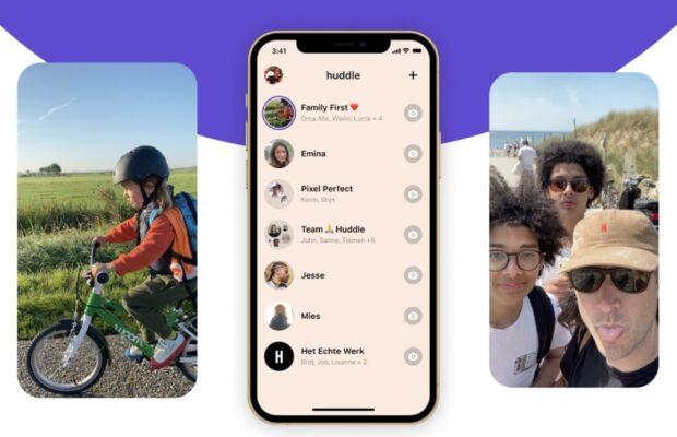 Beste iphone apps van de week Huddle