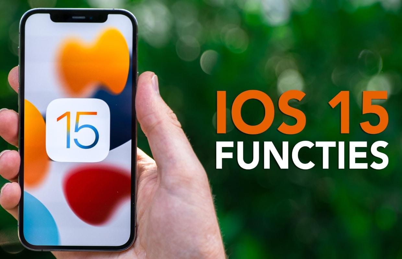 Video: de 7 belangrijkste iOS 15-verbeteringen op een rij