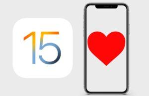 Funzionalità sanitarie di iOS 15
