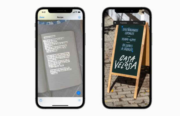 iOS 15 Camera-app