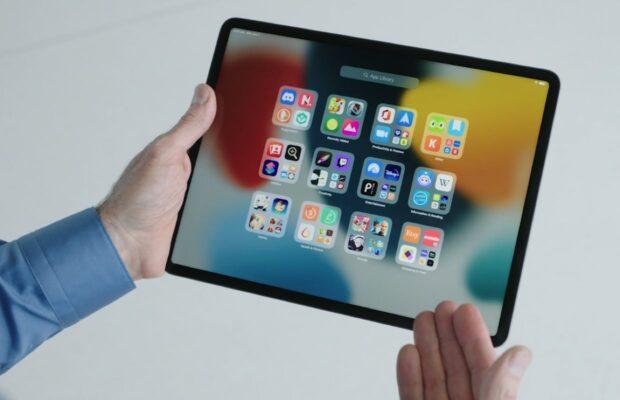 iPadOS 15 Appbibliotheek