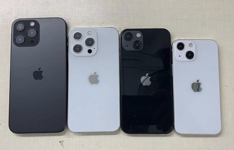 'iPhone 13-dummies laten het design van de nieuwe iPhones zien'