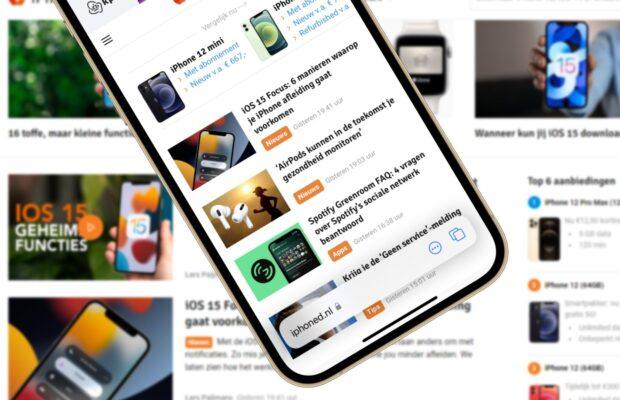 iOS 15 preview safari