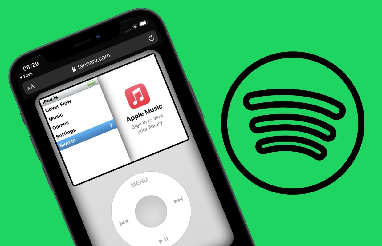 Spotify op je iPod luisteren? Het kan met deze 'app'