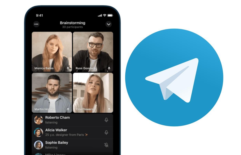 Telegram kan vanaf nu groepsbellen met beeld: zo werkt het
