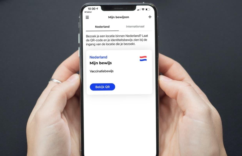 Zo maak je een toegangsbewijs (qr-code) met de CoronaCheck-app op je iPhone