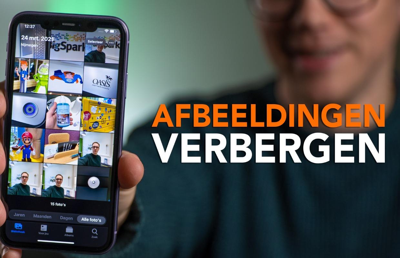 Video: Zo kun je foto's op je iPhone verbergen