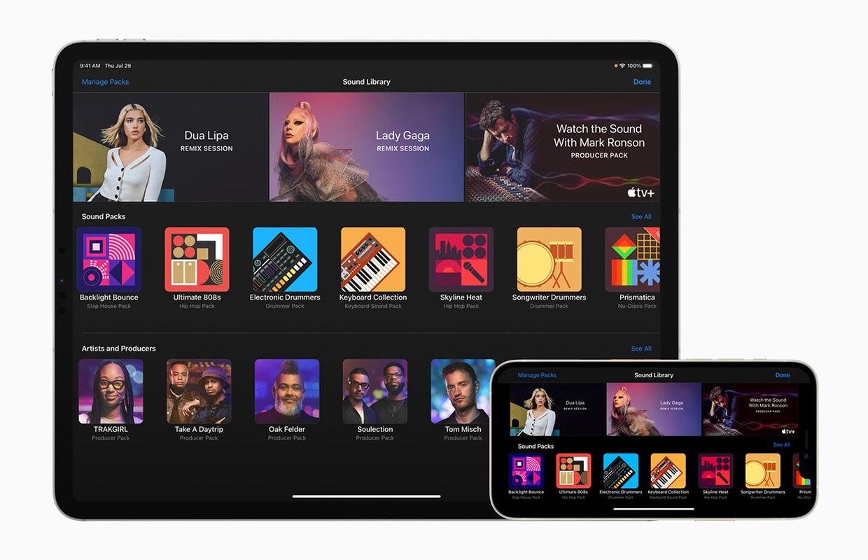 GarageBand voor iPhone en iPad leert je nu hoe je remixt als Dua Lipa en Lady Gaga