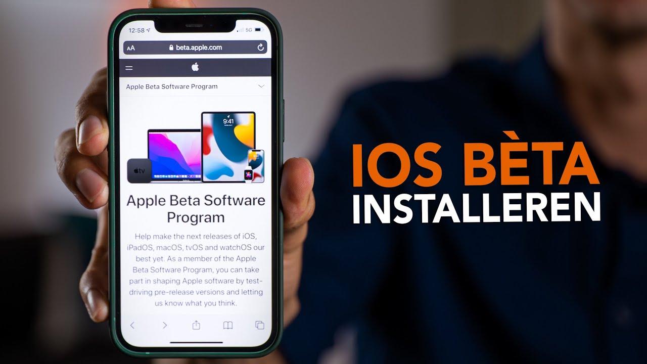 Video van de week: iOS-bèta installeren en downgraden