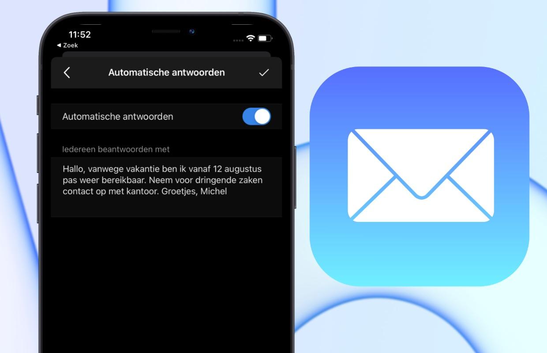Out of office instellen: zo maak je een afwezigheidsbericht in je mail-app