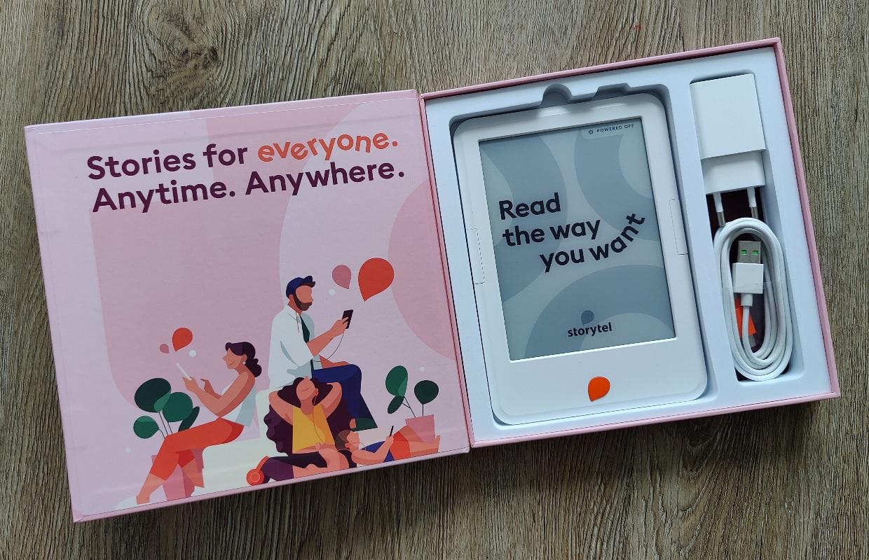 Storytel Reader verschijnt officieel in Nederland voor 129 euro