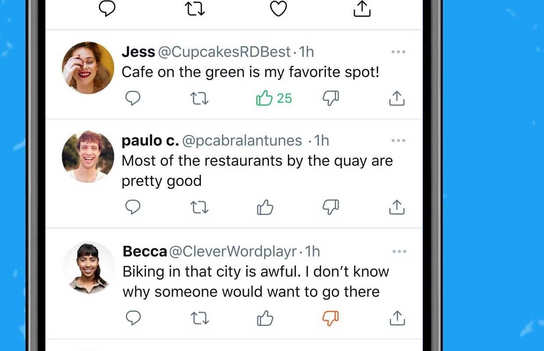 Twitter op iOS krijgt dislikeknop, maar niet zoals je denkt