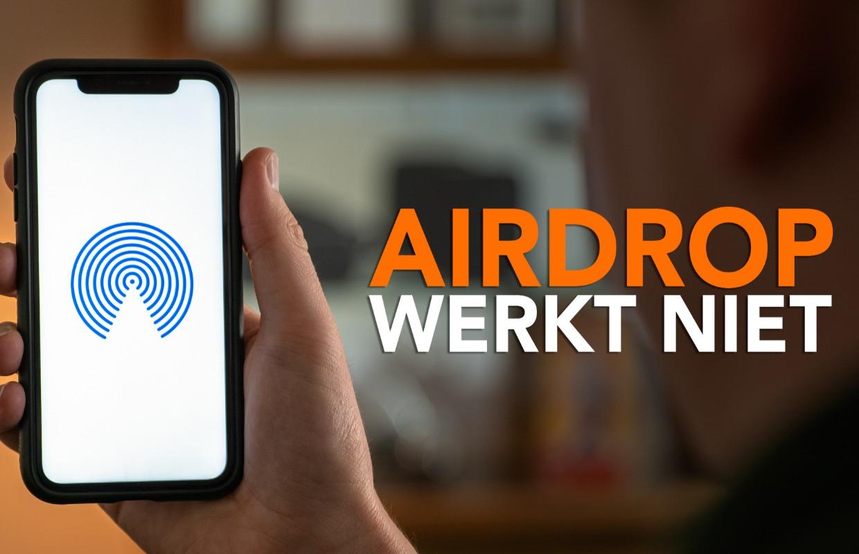 Video: Werkt AirDrop niet? Probeer deze oplossingen