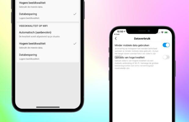 Bewaar iPhone-gegevens op YouTube en Instagram