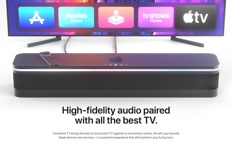 Concept HomePod TV: zo gaaf zou een vernieuwde Apple TV kunnen worden