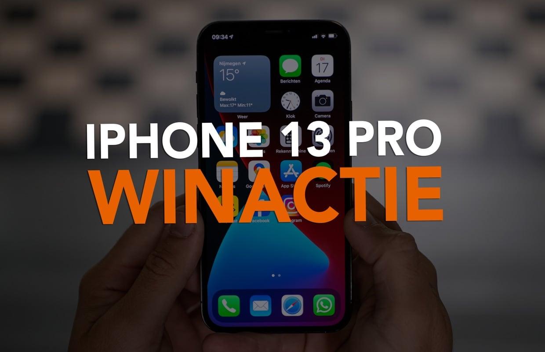 Update: winnaar iPhone 13 Pro winactie is bekend!