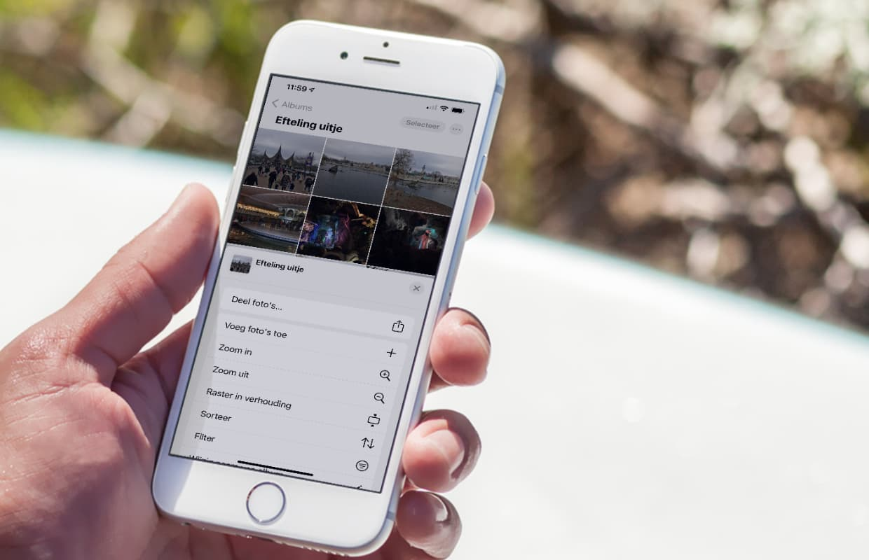 Foto's delen vanaf je iPhone? Zo maak je simpel en snel een fotoalbum