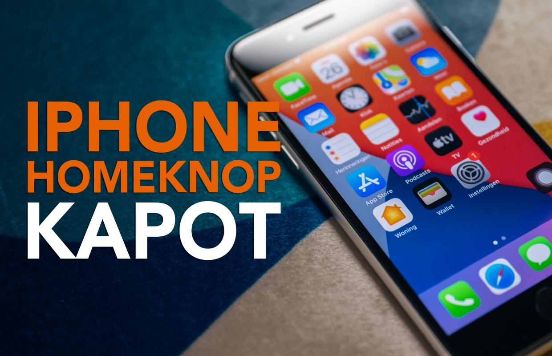 Video van de week: Wat als je iPhone-homeknop kapot is?