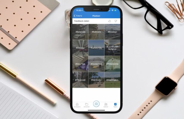 iPhone OneDrive cloud opslag