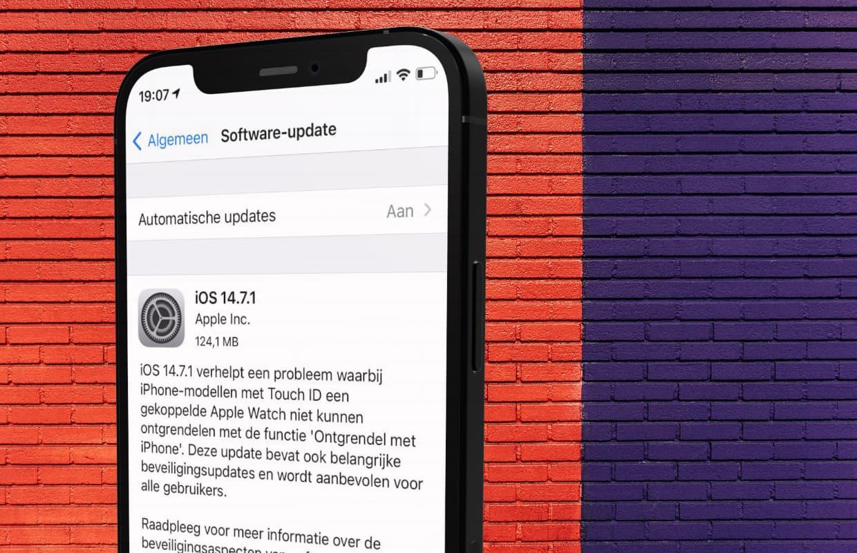iPhone updaten: zo installeer je de nieuwste iOS-versie
