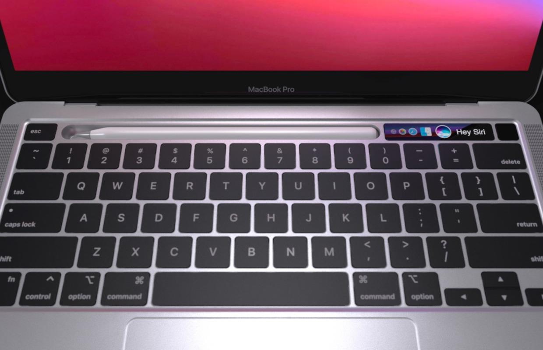Apple werkt aan MacBook met uitneembare muis in toetsenbord