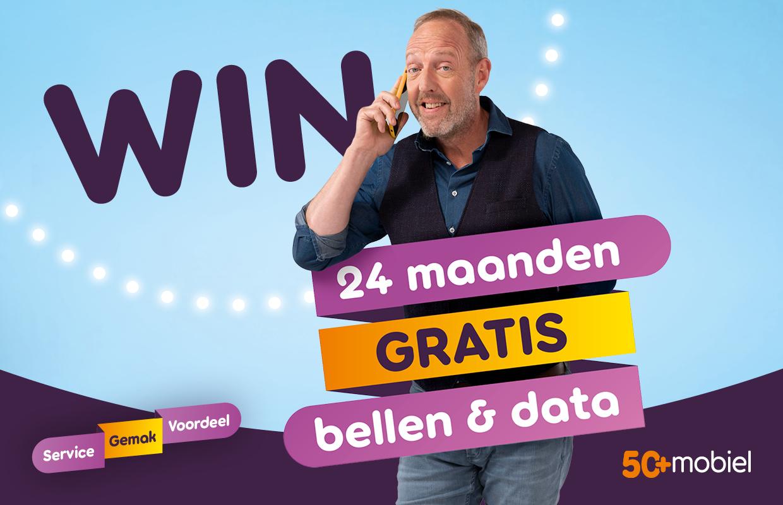 Exclusief bij iPhoned: kans op twee jaar gratis data en bellen van 50Plus Mobiel t.w.v. maximaal 360 euro (ADV)