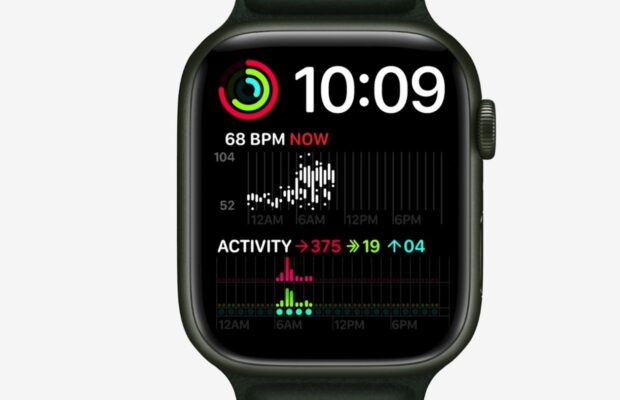 Wajah Apple Watch standar