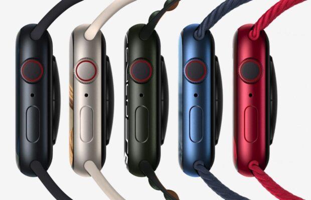 Apple Watch Seri 7 warna