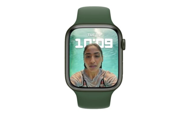 Apple Watch portretmodus wijzerplaat