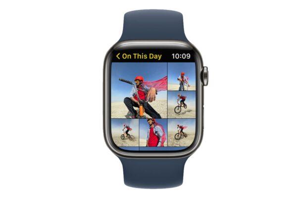 Apple WatchOS 8 foto's