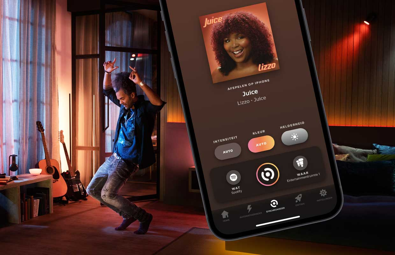 Zo koppel je Philips Hue en Spotify voor disco in huis