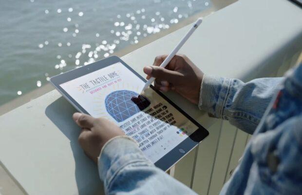 iPad 2021 met Apple Pencil