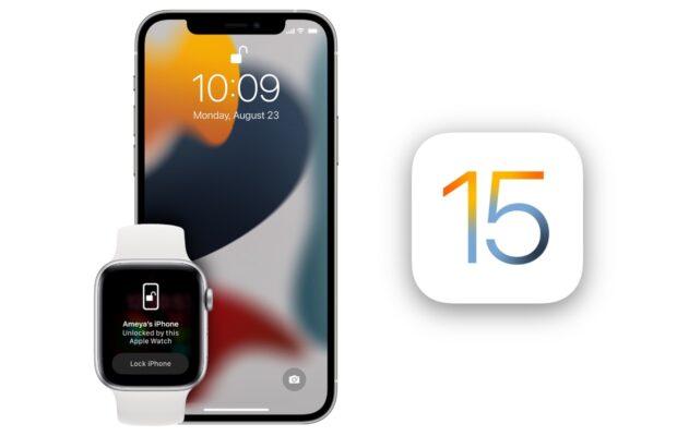 iPhone 13 ontgrendelen Apple Watch
