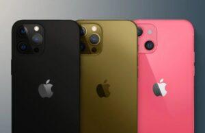 iphone 13 kleuren gerucht roze