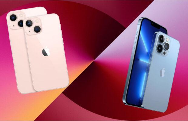 iPhone 13 verschillen
