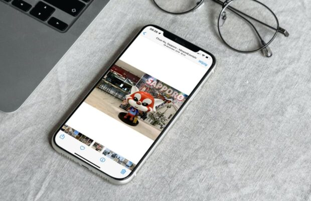iPhone fotobibliotheek