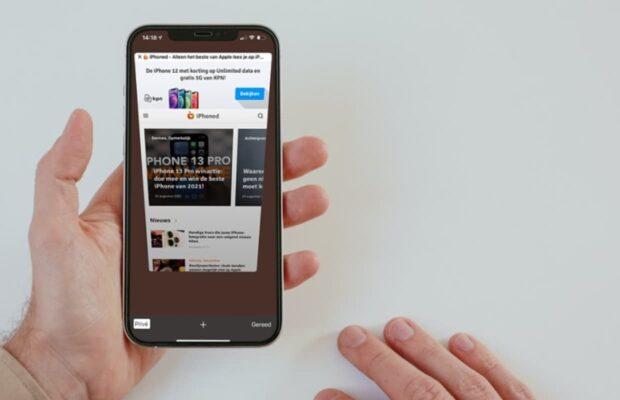 Veilig surfen op iPhone met privémodus