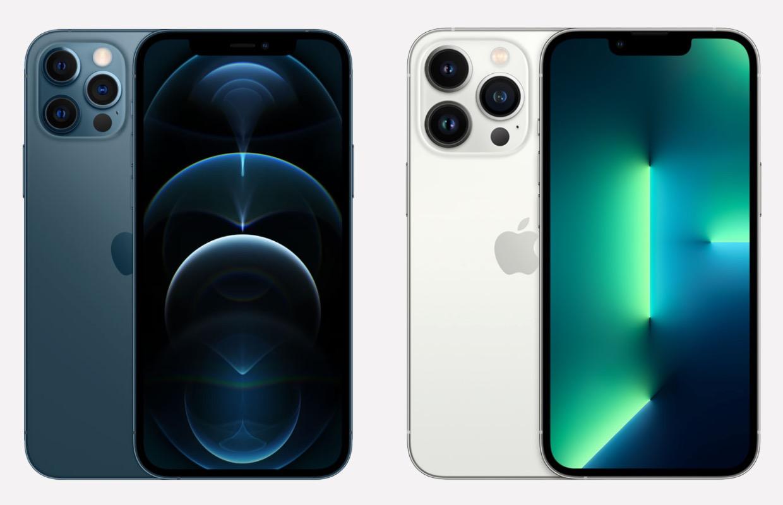 iPhone 13 Pro vs iPhone 12 Pro: 6 verschillen op een rij