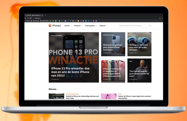 Een nieuwe look (en nog veel meer) voor iPhoned