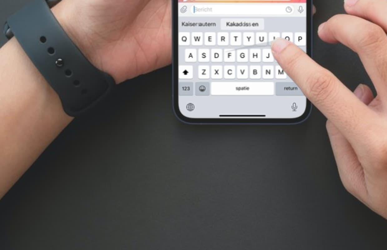 iOS 15: snel, sneller, snelst typen met QuickPath in het Nederlands