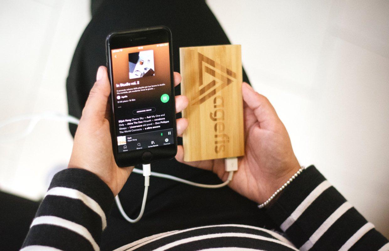 iPhone-batterij sinds iOS 15 snel leeg door Spotify