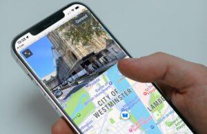 Peta Apple di iOS 15