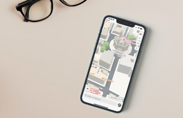 Apple Kaarten stadsweergave 3D