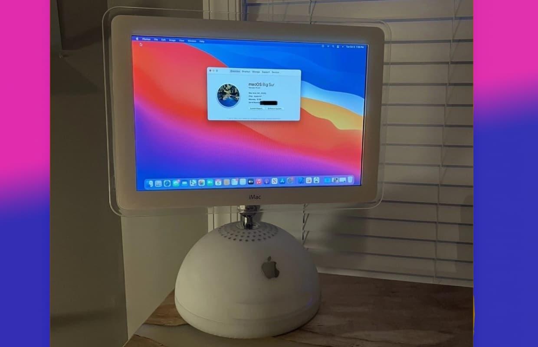 Terug van weggeweest: de iMac G4 (maar nu met een M1-chip)