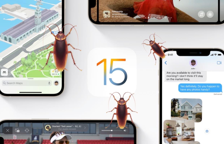 iOS 15-bugs: deze problemen zijn er nog (en welke niet met iOS 15.0.1)
