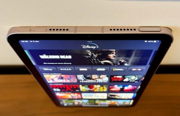 iPad mini 2021 knoppen