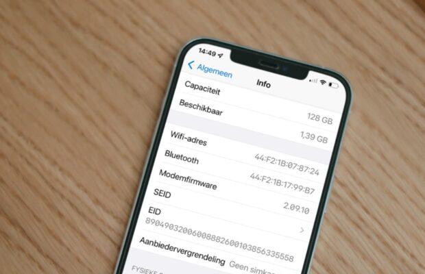 iOS 15 bugs: iphone opslag vol