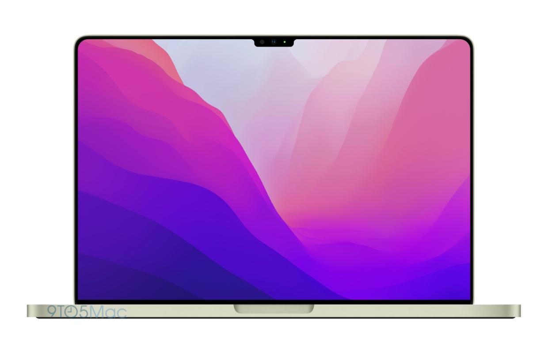 MacBook Pro 2021 heeft mogelijk een inkeping (en zo ziet dat eruit)