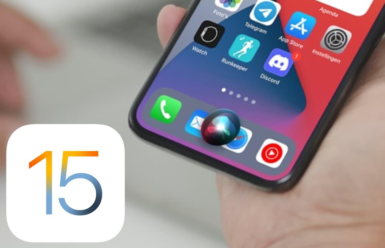 Siri is slimmer in iOS 15: dit zijn de nieuwe functies en verbeteringen