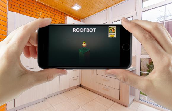 Roofbot: Puzzler On The Roof is Apples gratis app van de week